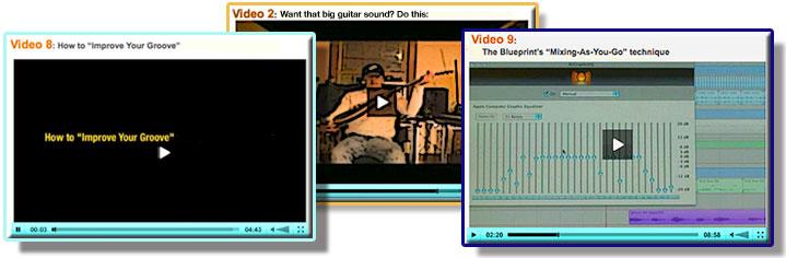 home recording videos