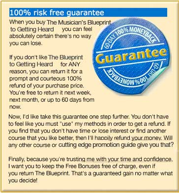 The Famous Blueprint Guarantee