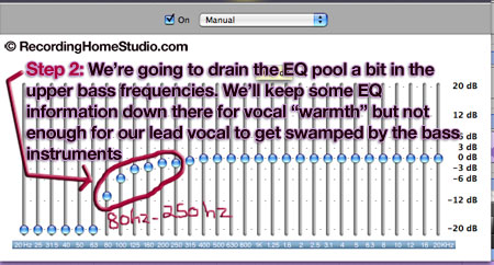 eq vocals step 2