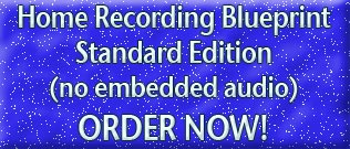 Download Home Recording Blueprint STANDARD EDITION