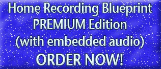 Download Home Recording Blueprint PREMIUM EDITION