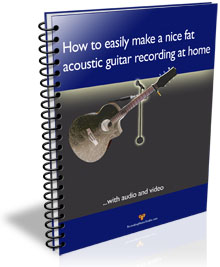 how to home record acoustic guitar