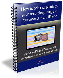 professional quality recording on an iPhone